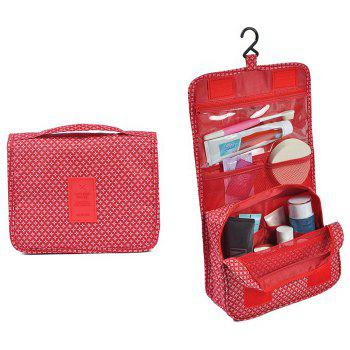 Print Patchwork Storage Bag - RED RED