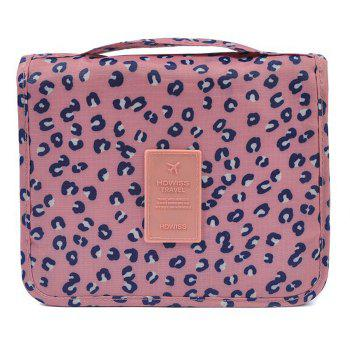 Print Patchwork Storage Bag - PINK