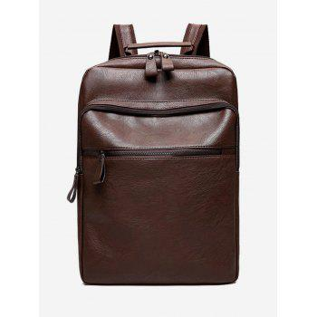Multi Function PU Leather Backpack