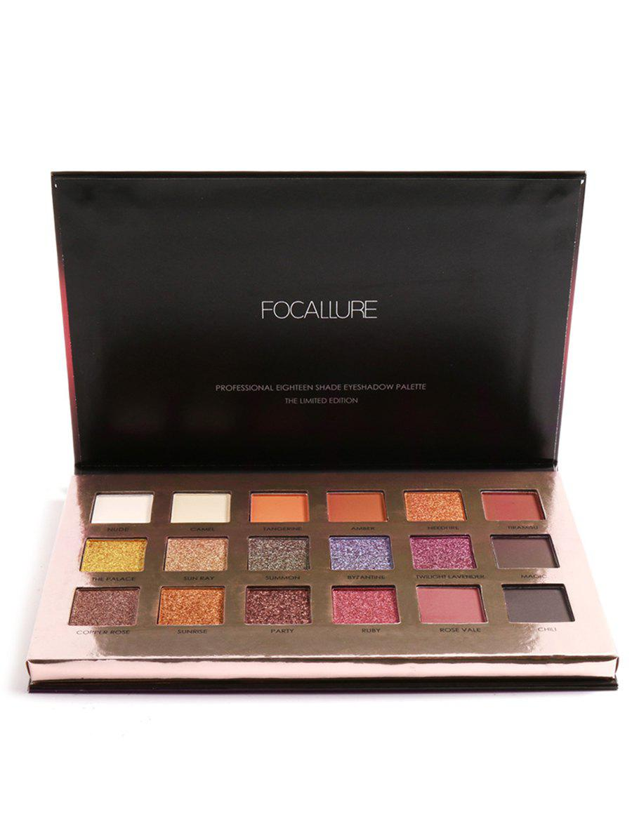 Professional Shimmer and Shade Eyeshadow Palette -