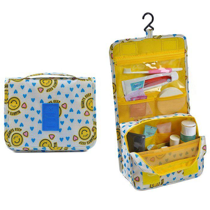 Print Patchwork Storage Bag - YELLOW