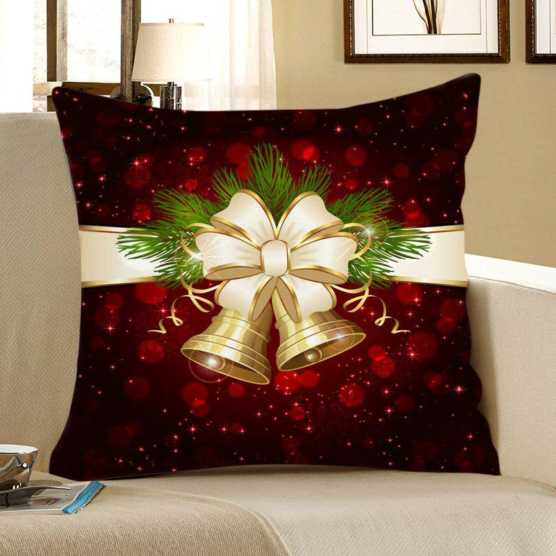 Christmas Bell Pattern Decorative Pillow Case - COLORFUL W18 INCH * L18 INCH