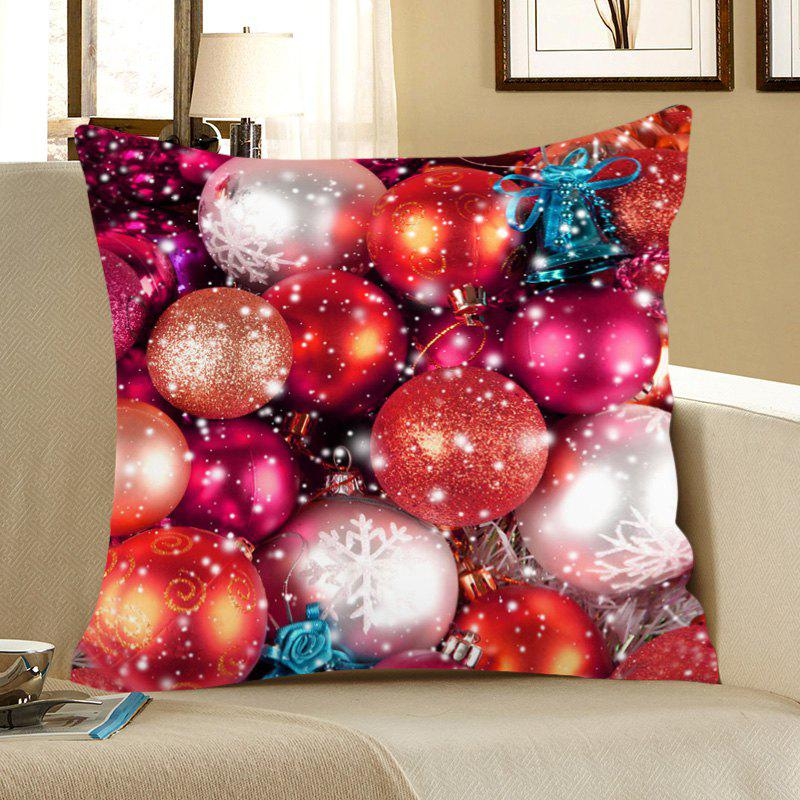 Colored Balls Pattern Square Pillow Case - COLORFUL W18 INCH * L18 INCH