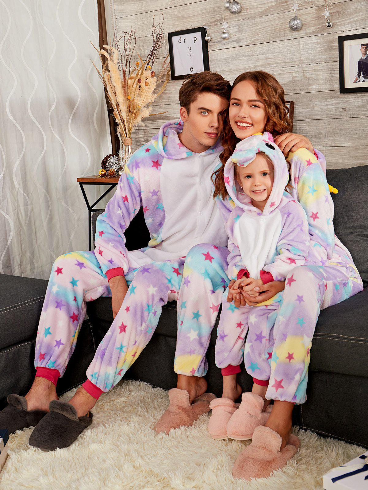 Cute Rainbow Pegasus Animal Family Onesie Pajama Set велосипед pegasus piazza gent 7 sp 28 2016