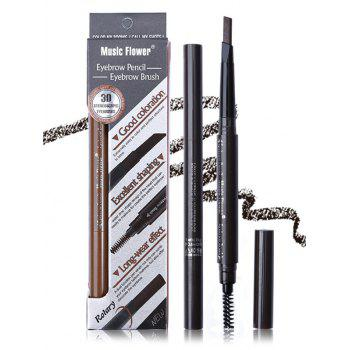 Professional Waterproof Double Ended Eyebrow Pencil -  PATTERN C