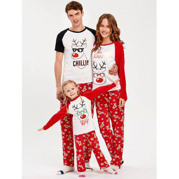 Rudolph Deer Matching Family Christmas Pajama