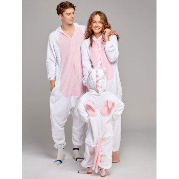 Fleece Unicorn Animal Family Onesie Pajamas