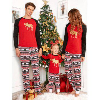 ELK Matching Family Christmas Pajama
