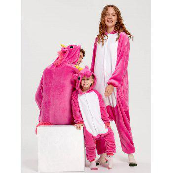 Cute Unicorn Matching Family Christmas Onesie Pajamas - TUTTI FRUTTI DAD S