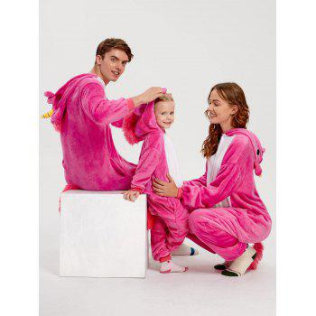 Cute Unicorn Matching Family Christmas Onesie Pajamas - TUTTI FRUTTI MOM L