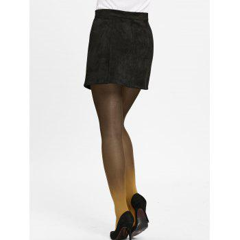 Gradient Color Pantyhose - KHAKI ONE SIZE