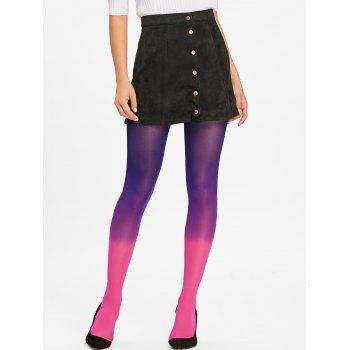 Gradient Color Pantyhose - ROSE RED ROSE RED