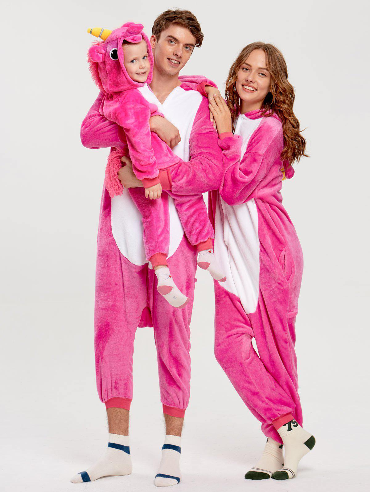 Cute Unicorn Matching Family Christmas Onesie Pajamas - TUTTI FRUTTI KID 120