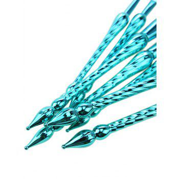 7 Pcs Pointed Scepters Handle Makeup Brush Set -  OASIS