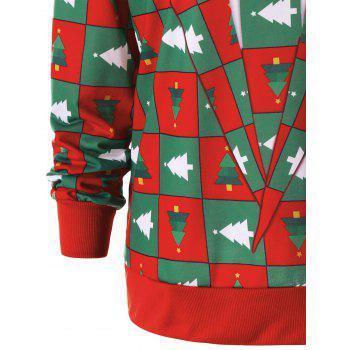 Pinetree Christmas Crew Neck Sweatshirt - COLORMIX 2XL