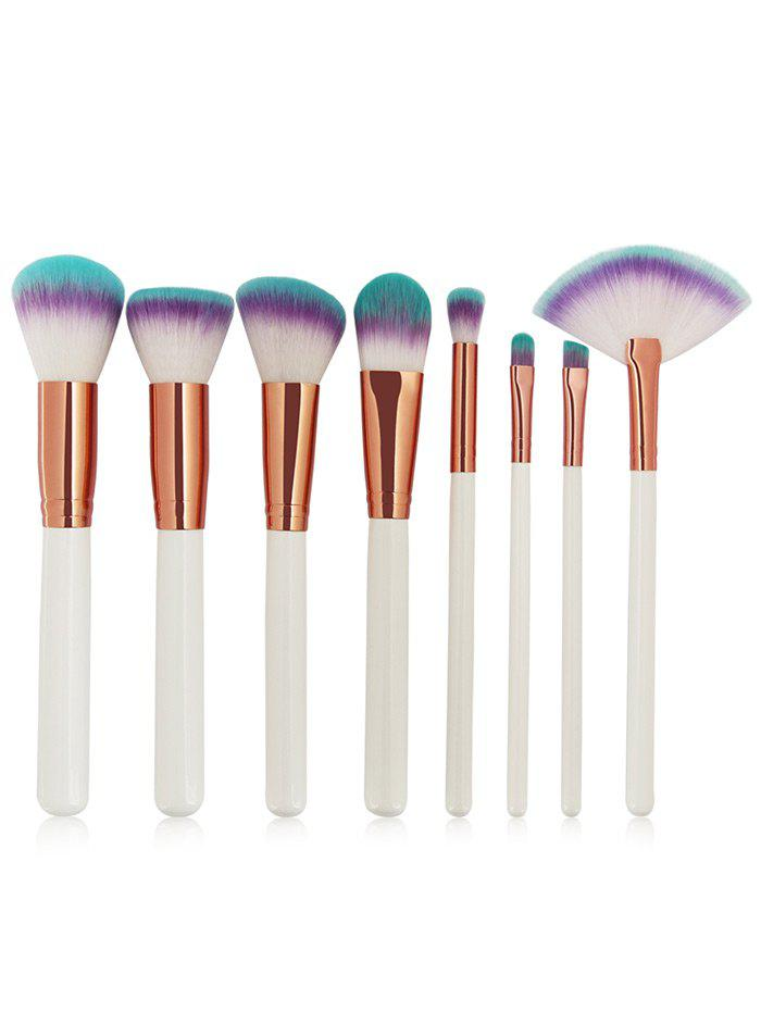 8 Pieces Three Tones Bristles Makeup Brush Set ophir pro 3 tips air brush airbrush kit with air compressor for nail art