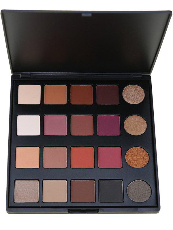 Smoky Eyes Shade 20 Colors Matte Eyeshadow Palette - 01