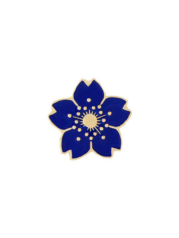 Cute Tiny Flower Brooch - BLUE