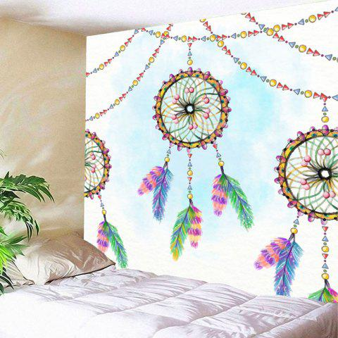 Wall Decor Dreamcatcher Print Tapestry - COLORMIX W71 INCH * L71 INCH