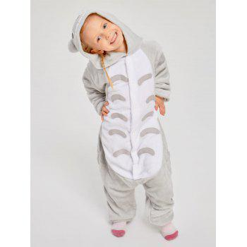 Christmas Cut Cat Animal Onesie Pajama for Family - GRAY MOM XL