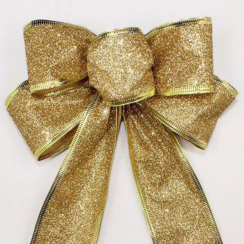 Christmas Decoration Bowknot -  GOLDEN
