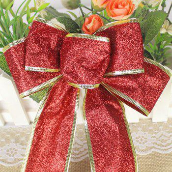 Christmas Decoration Bowknot -  RED