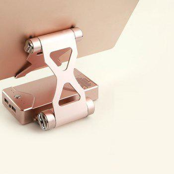 3 In 1 Bluetooth Speaker Power Bank with Phone Holder - ROSE GOLD ROSE GOLD