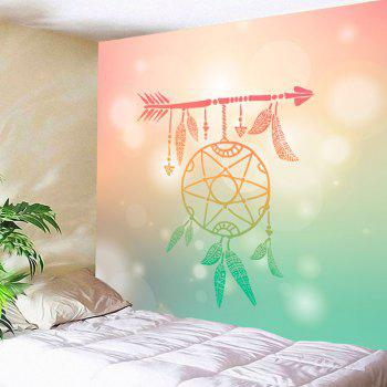 Arrow Dreamcatcher Print Wall Art Tapestry - COLORMIX COLORMIX