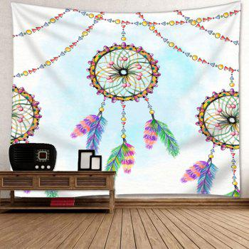 Wall Decor Dreamcatcher Print Tapestry - COLORMIX W91 INCH * L71 INCH