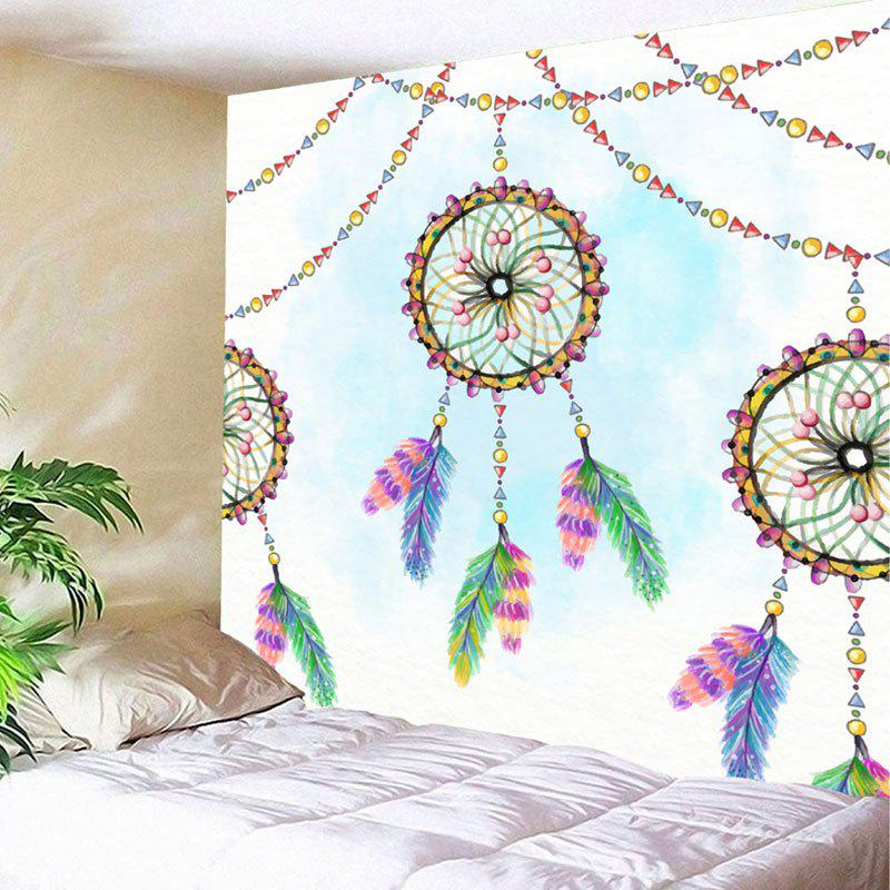 Wall Decor Dreamcatcher Print Tapestry - COLORMIX W59 INCH * L51 INCH
