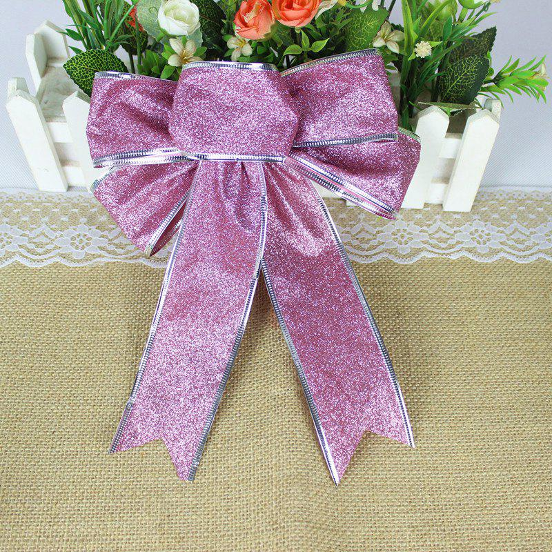 Christmas Decoration Bowknot - PINKISH PURPLE