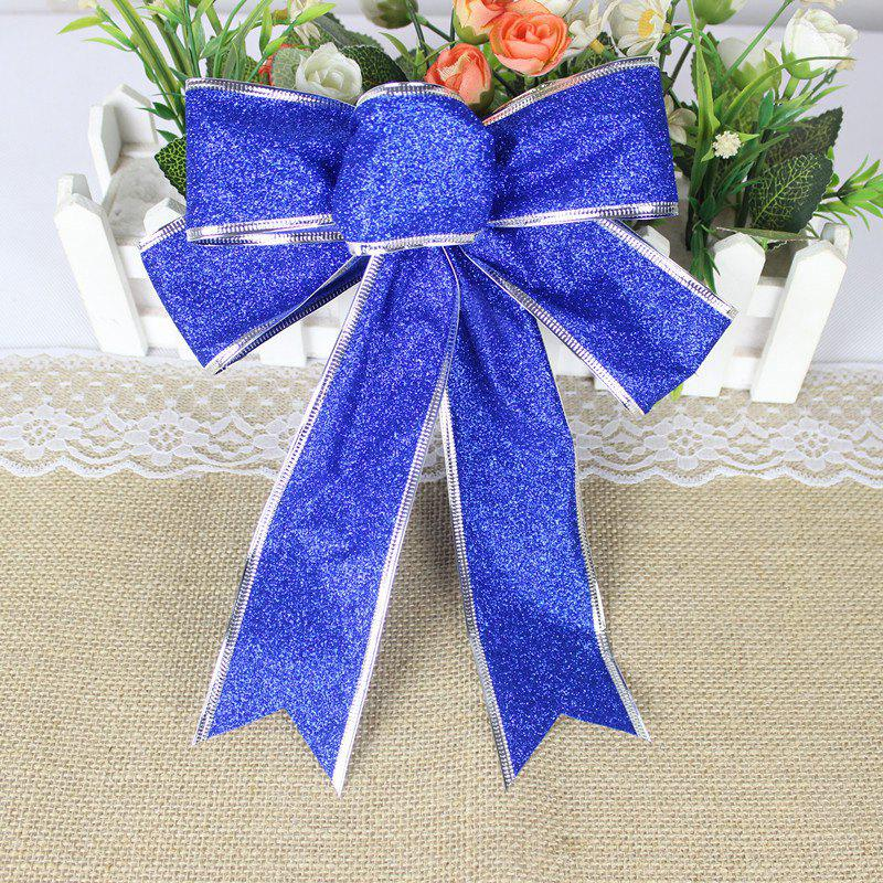 Christmas Decoration Bowknot - BLUE