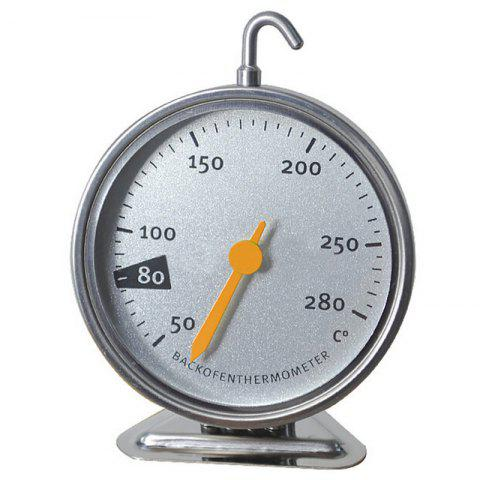 Stainless Steel Precious Measurement Oven Thermometer - SILVER