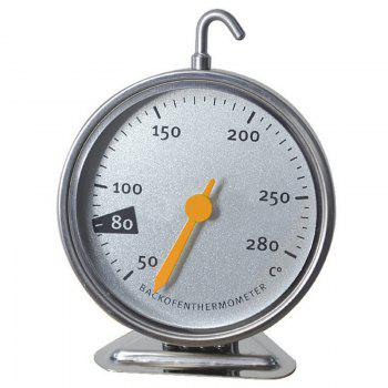 Stainless Steel Precious Measurement Oven Thermometer - SILVER SILVER