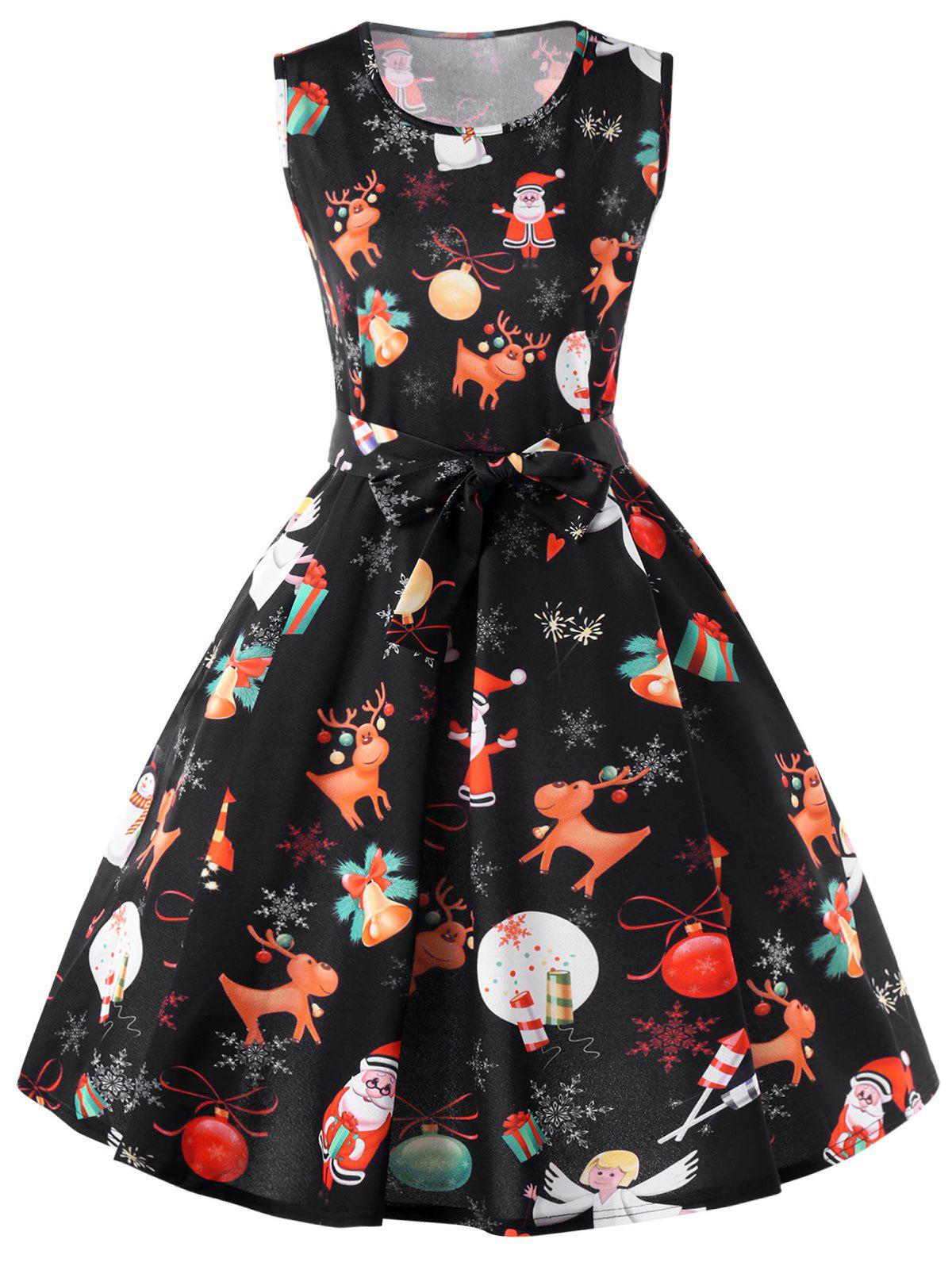 Christmas Reindeer 50s Swing Dress bup 50s bud 50s autonics new and original photo sensor 12 24vdc