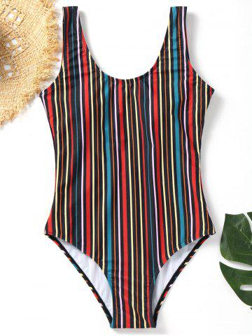 173c2c31ea 2019 One Piece Striped Swimsuit Online Store. Best One Piece Striped ...