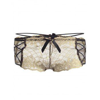 Lace Straps See Thru Panties - COMPLEXION COMPLEXION