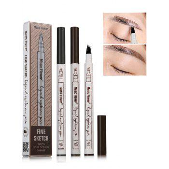 Professional Long Wear Natural Color Eyebrow Pencil - COFFEE