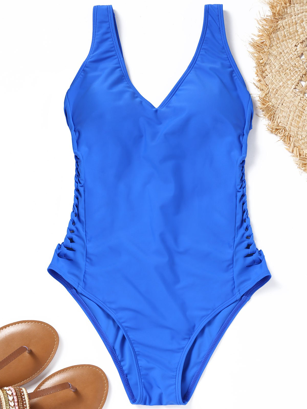 Caged Cut One Piece Swimsuit caged back swimsuit