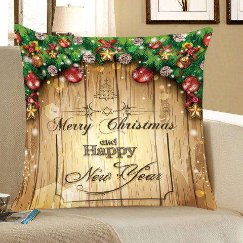 Merry Christmas Decorations Patterned Throw Pillow Case - COLORFUL W12 INCH * L20 INCH