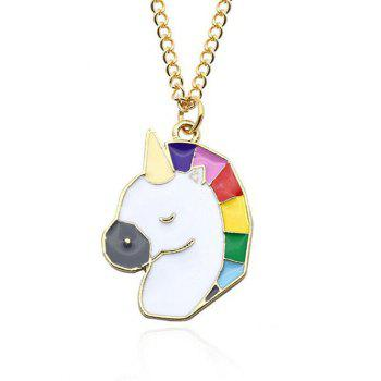 Unicorn Chain Pendant Necklace