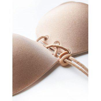 Backless Push Up  Sticky Pasties Bra - COMPLEXION COMPLEXION