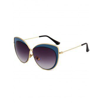 Anti-fatigue Cat Eye Full Frame Sunglasses - DEEP BLUE DEEP BLUE