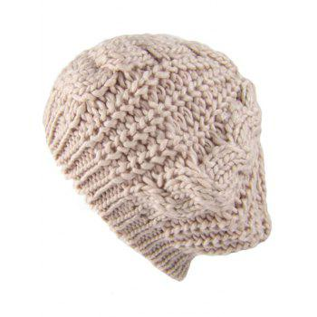 Outdoor Crochet Knitted Baggy Beanie Hat