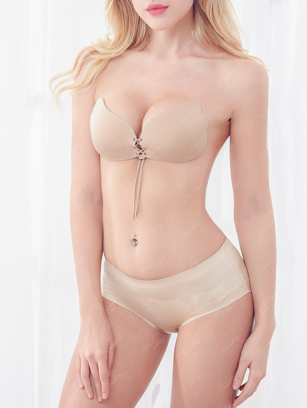 Adhesive Push Up Bra - COMPLEXION CUP D