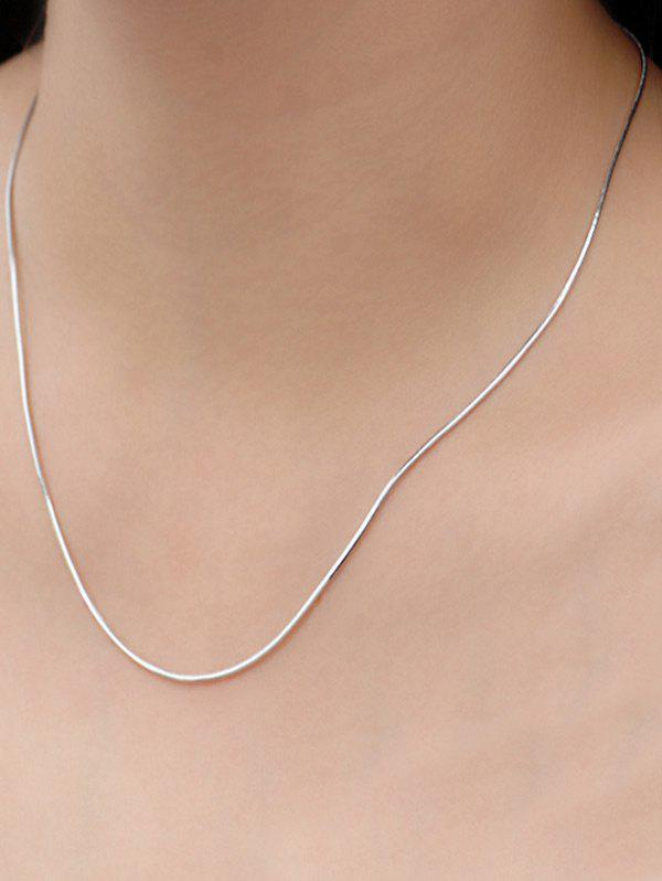 Alloy Snake Chain Necklace alloy snake chain necklace