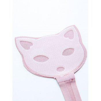 Cat Pattern Invisible Sticky Panties - PINK PINK