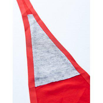 Cat Pattern Invisible Sticky Panties - RED S