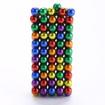 216Pcs 5MM Relieve Anxiety Colorful DIY Magic Magnetic Balls - COLORFUL