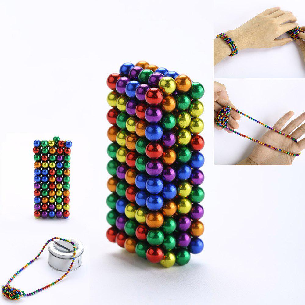 216Pcs 5MM Relieve Anxiety Colorful DIY Magic Magnetic Balls stress anxiety